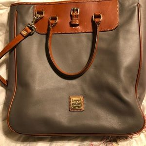 Dooney & Bourke Computer Bag Grey
